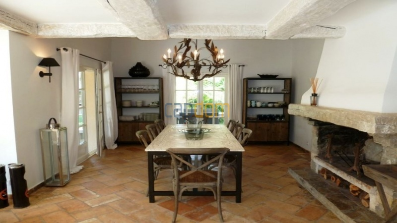 Charming 5 bedrooms Villa for holiday rental domain Capila Saint Tropez by Pampelonne - Dining Area