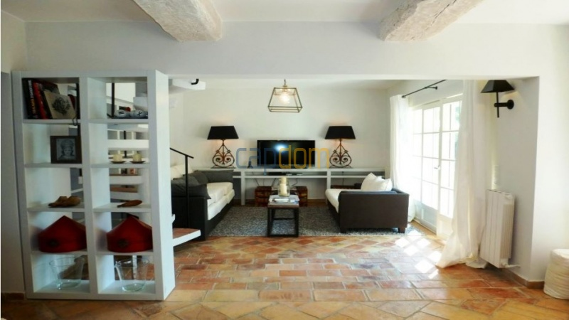 Charming 5 bedrooms Villa for holiday rental domain Capila Saint Tropez by Pampelonne - TV Corner