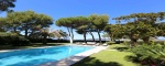 Modern villa facing the beach on the west side of Cap d'Antibes - sea view