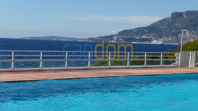 Splendid Apartment Panoramic Sea View Grand Hotel Cap Martin Roquebrune - Swimming Pool