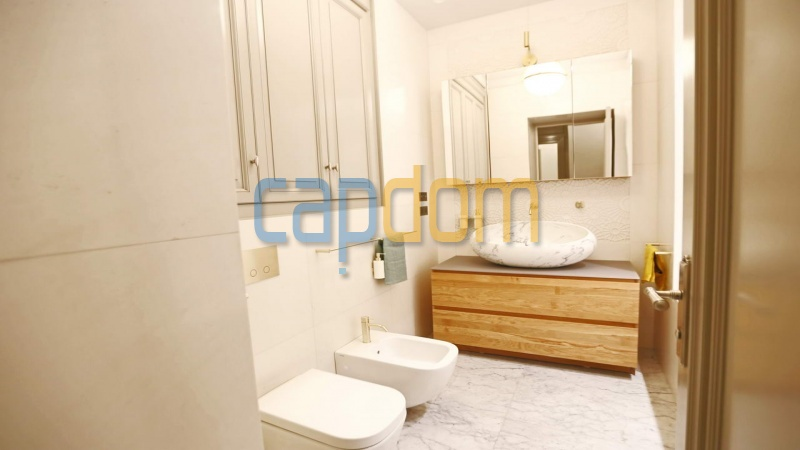 Splendid Apartment Panoramic Sea View Grand Hotel Cap Martin Roquebrune - bathroom