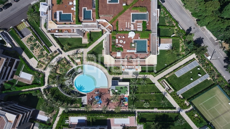 Large apartment for sale Cap d'Antibes near Pinède beaches and shops in brand-new residential complex - Satellite View