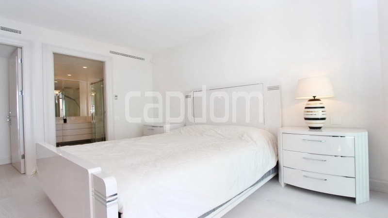 Modern Appartment in waterfront residence Maeterlinck in Nice - Bedroom 2