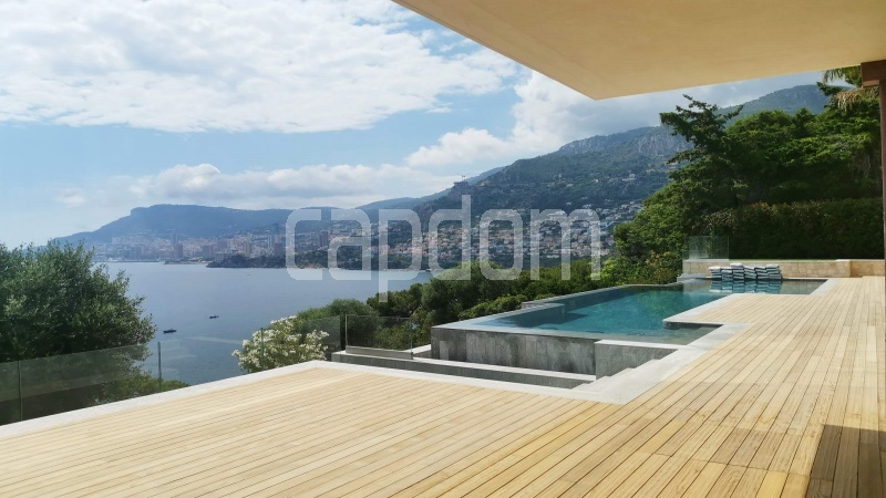 New Waterfront Villa for sale in Roquebrune Cap-Martin - Pool Deck