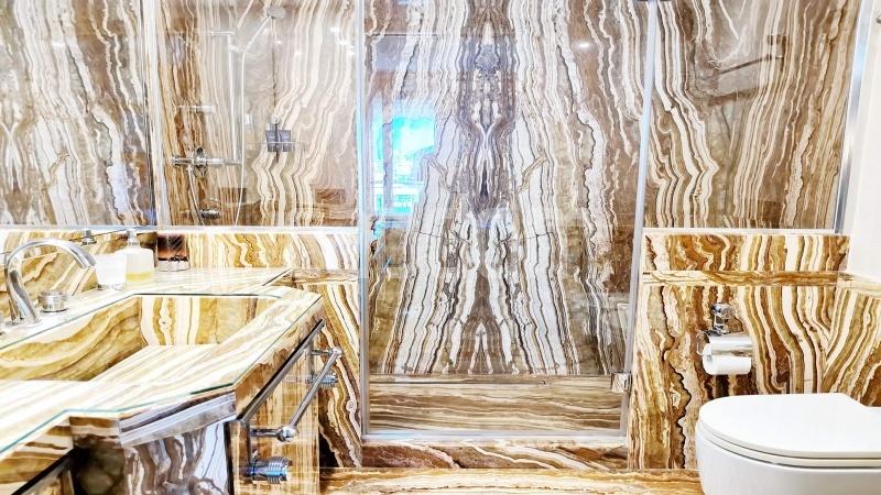 Канны-Известный Круазет - Квартира С Потрясающим Панорамным Видом На Последнем Уровне -  ванная 3