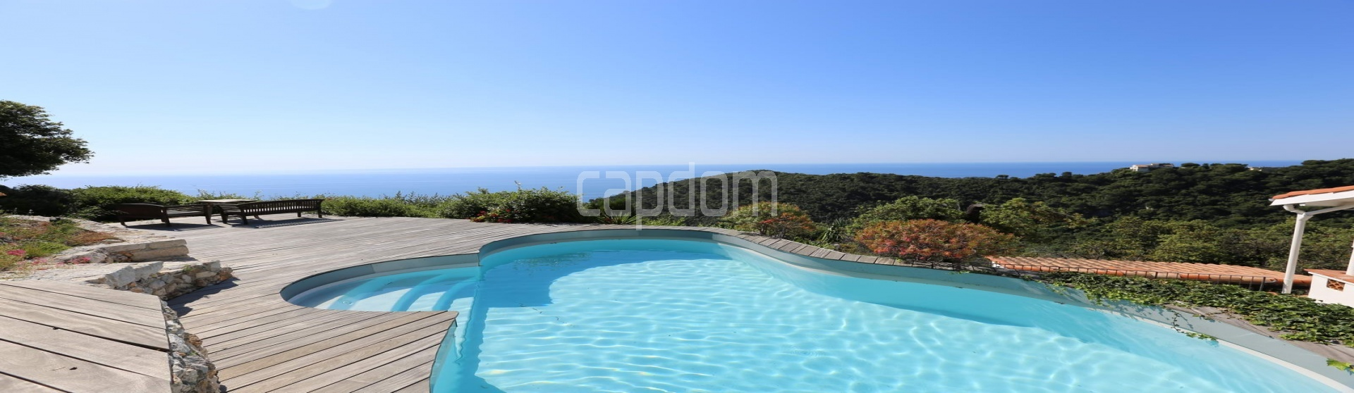 Charming Villa for sale with panoramic view in Villefranche-sur-Mer - panoramic view