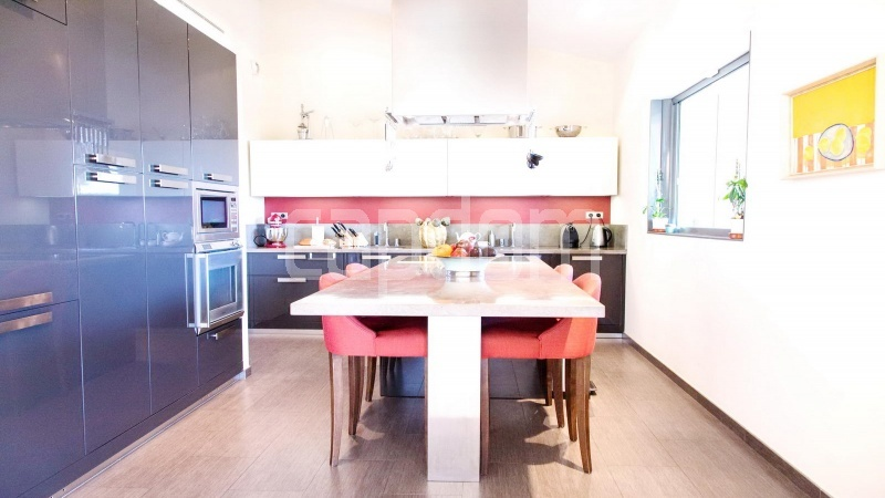 Contemporary large villa for vacation rental in Cap-Ferrat - fully equipped kitchen