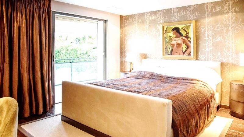 Contemporary large villa for vacation rental in Cap-Ferrat - bedroom 2