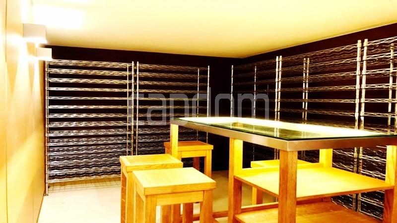 Contemporary large villa for vacation rental in Cap-Ferrat - wine cellar