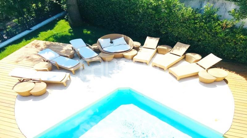 Contemporary large villa for vacation rental in Cap-Ferrat - outdoor terrace