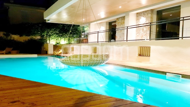 Contemporary large villa for vacation rental in Cap-Ferrat - swimming pool