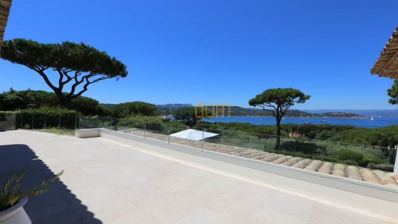 Villa for sale Les Parcs Saint Tropez - view from terrace