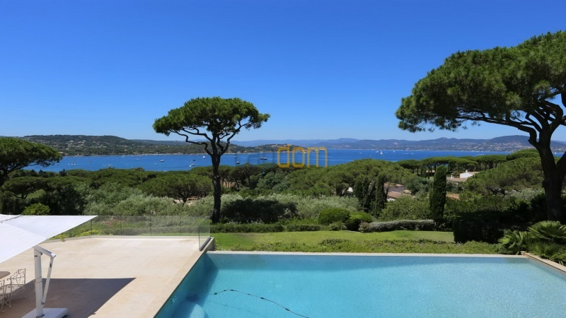 Villa for sale Les Parcs Saint Tropez - sea view clear