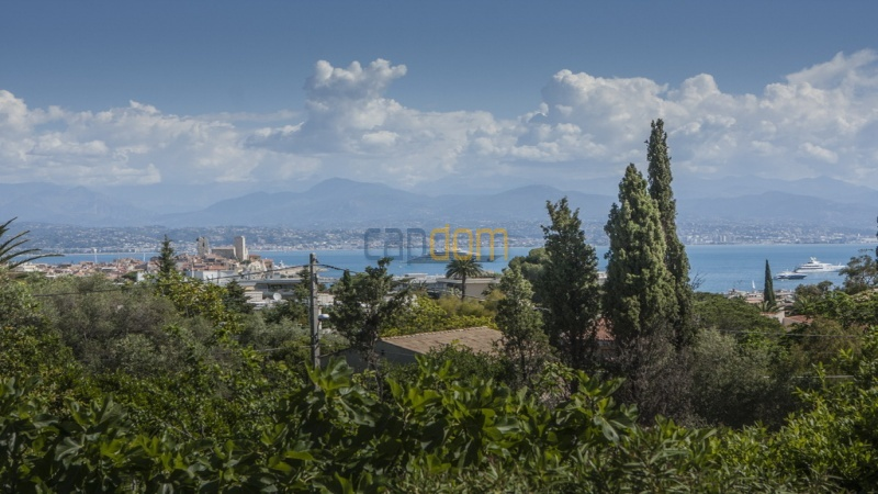 Villa for sale  Cap d'Antibes - view over Nice Golfe