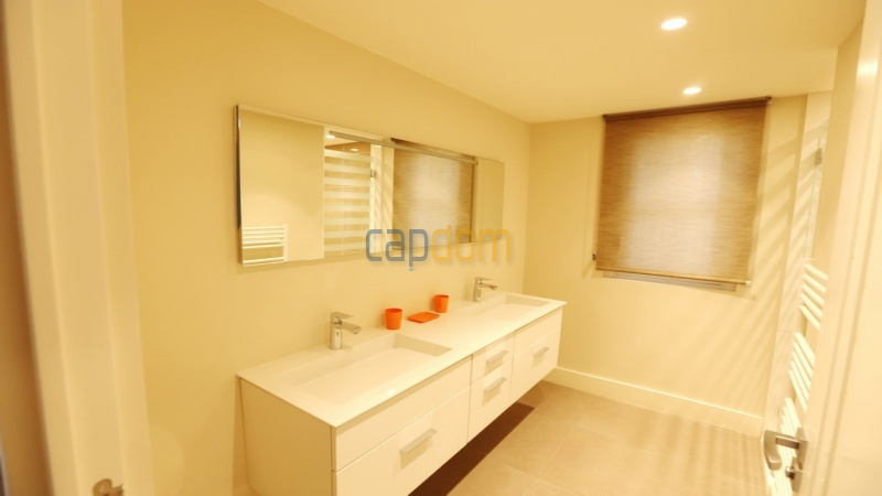 Holiday rental villa cap antibes sea view - bathroom 2