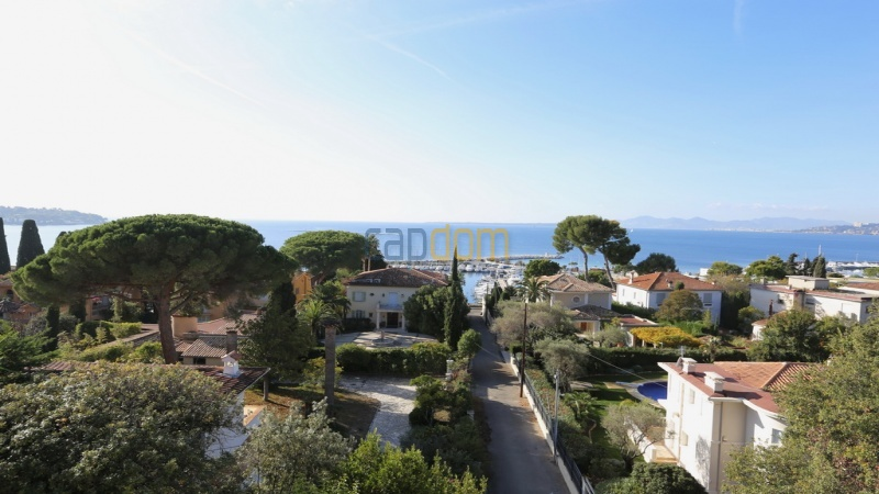 Holiday rental villa cap antibes sea view - West sea view
