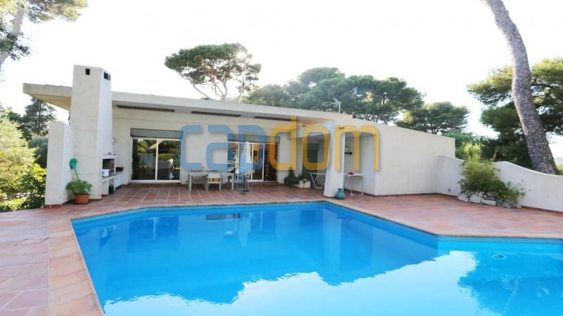 Californian Villa for sale Cap d'Antibes - terrace