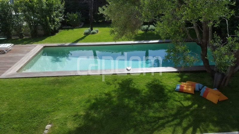 Recently build villa for sale Salis Beach Cap d'Antibes - swimming-pool