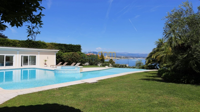 Gorgeous waterfront villa with panoramic sea view  cap d antibes  - sea view