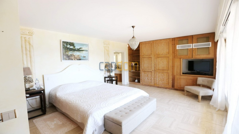 Gorgeous waterfront villa with panoramic sea view  cap d antibes  - bedroom 3
