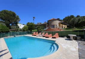 Beautiful character villa cap d antibes west side - swimming pool