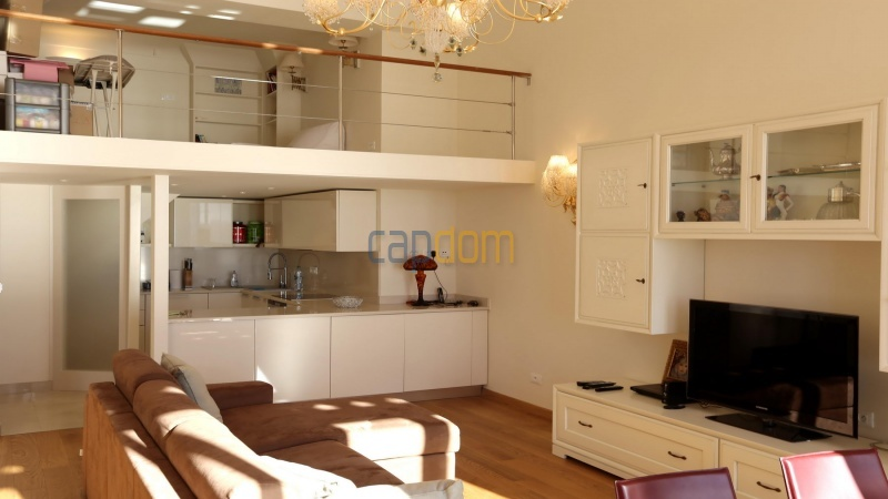 Fully renovated apartment for sale Grand Hotel Cap Martin - Living