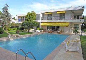 Californian Villa for Vacation Rental Cap d'Antibes near Eden Roc - House Front