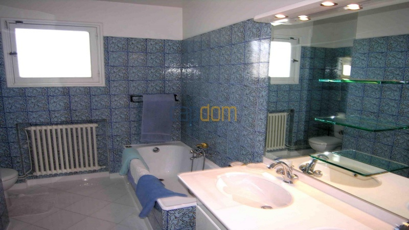 Californian Villa for Vacation Rental Cap d'Antibes near Eden Roc - Bathroom 1