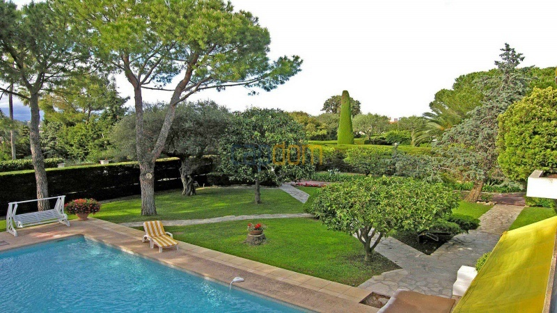 Californian Villa for Vacation Rental Cap d'Antibes near Eden Roc - Garden