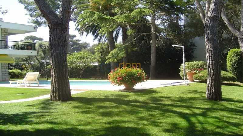 Californian Villa for Vacation Rental Cap d'Antibes near Eden Roc - Front Garden