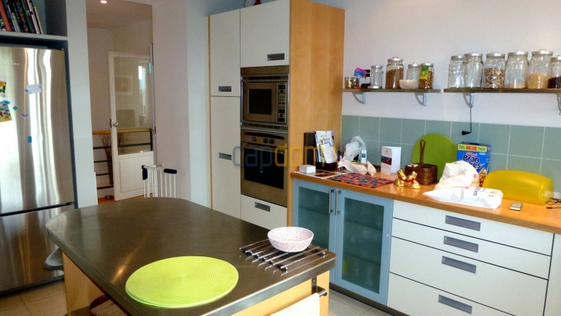 Charming Villa for Holiday Rental near Garoupe Beach Cap d'Antibes - Kitchen