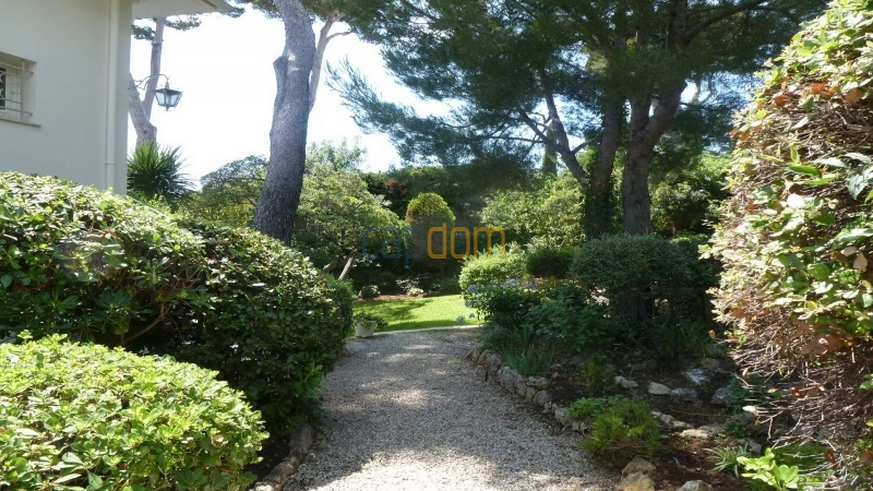 Charming Villa for Holiday Rental near Garoupe Beach Cap d'Antibes - Pathway