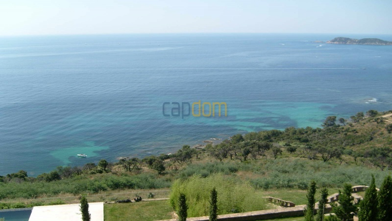 Genuine Castle with vineyards and panoramic sea views for rent heights of Ramatuelle Saint Tropez - panoramic sea view