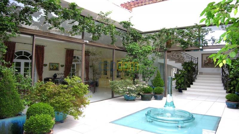 Огромная Вилла для отпуска в престижнейшей резиденции Лэ Парк - внутренний дворик