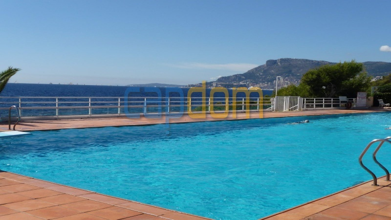 Огромная квартира на продажу в роскошной резиденции Гранд-отель кап мартен - бассейн
