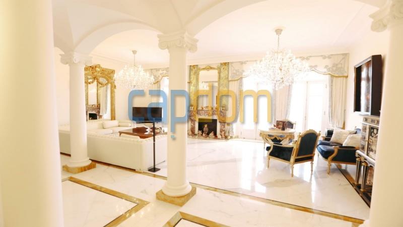 Огромная квартира на продажу в роскошной резиденции Гранд-отель кап мартен - салон