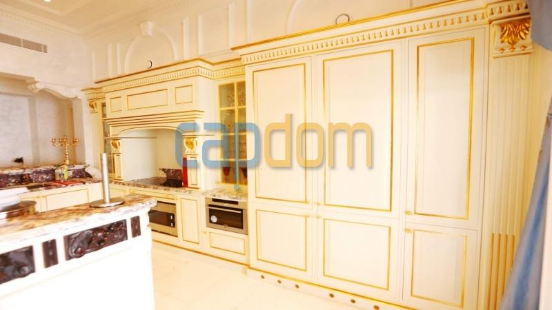 Огромная квартира на продажу в роскошной резиденции Гранд-отель кап мартен - кухня