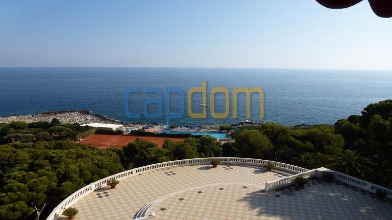 Огромная квартира на продажу в роскошной резиденции Гранд-отель кап мартен - вид на море