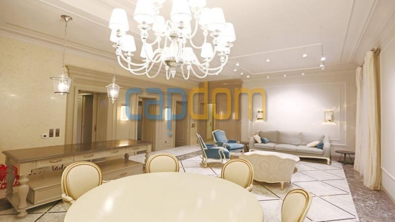 Splendid Apartment Panoramic Sea View Grand Hotel Cap Martin Roquebrune - dining room