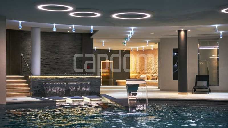 Large apartment for sale Cap d'Antibes near Pinède beaches and shops in brand-new residential complex - Indoor swimming-pool
