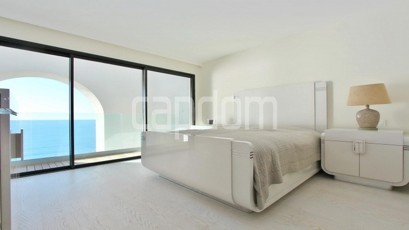 Modern Appartment in waterfront residence Maeterlinck in Nice - Bedroom 1