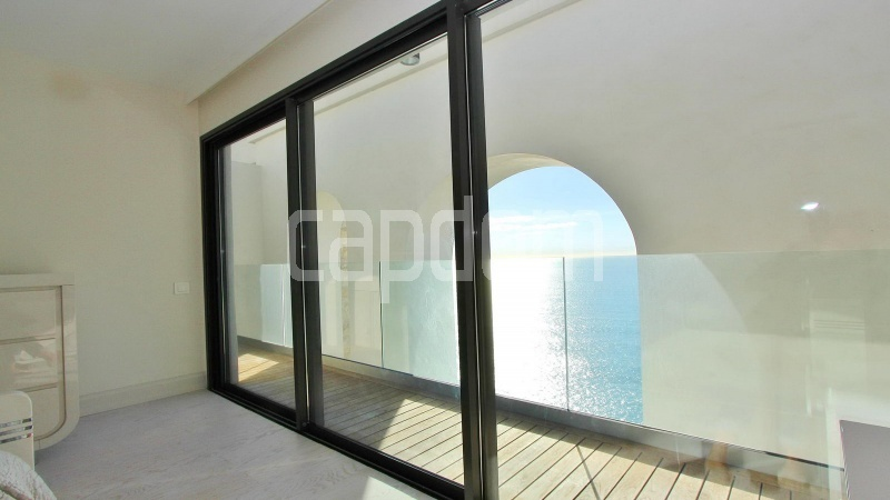 Modern Appartment in waterfront residence Maeterlinck in Nice - Upper deck