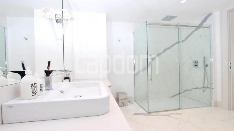 Modern Appartment in waterfront residence Maeterlinck in Nice - bathroom 1 shower