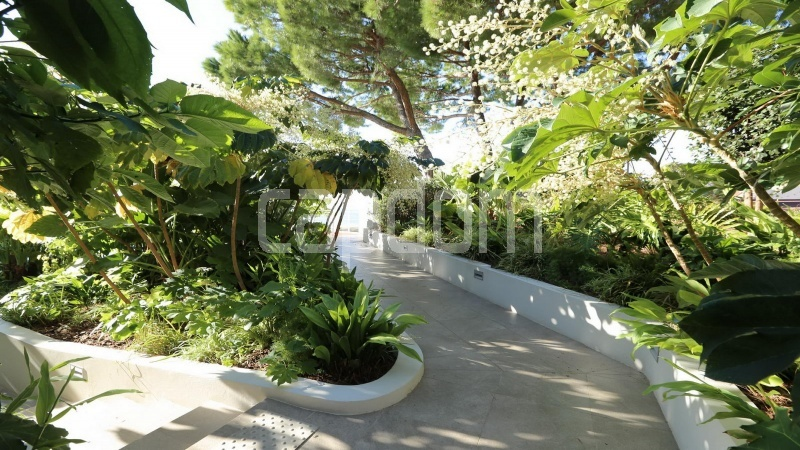 Modern Appartment in waterfront residence Maeterlinck in Nice - Gardens
