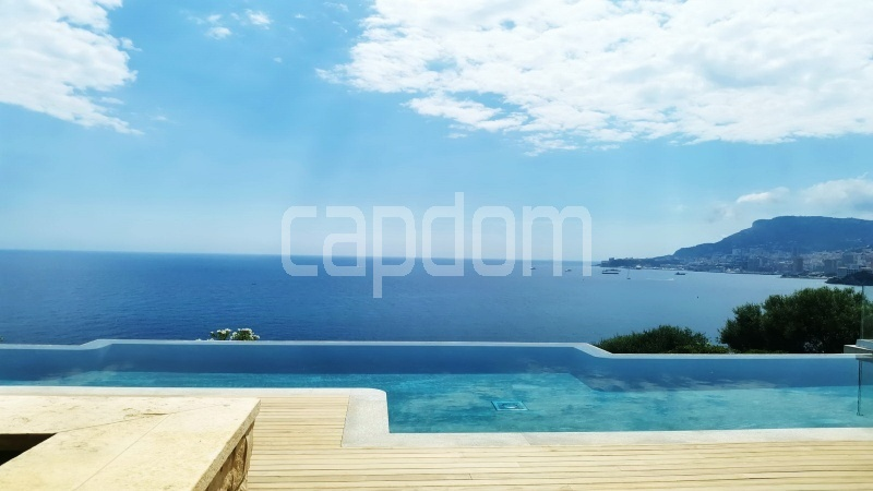 New Waterfront Villa for sale in Roquebrune Cap-Martin - Panoramic Sea Wiew