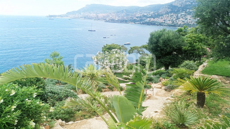 New Waterfront Villa for sale in Roquebrune Cap-Martin - Wiew over garden