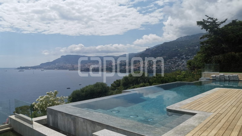 New Waterfront Villa for sale in Roquebrune Cap-Martin - Swimming Pool