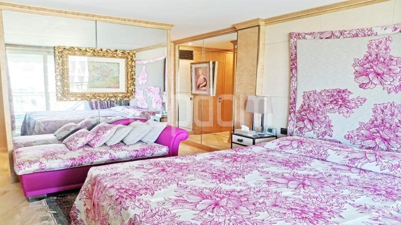Канны-Известный Круазет - Квартира С Потрясающим Панорамным Видом На Последнем Уровне -  Главная спальня