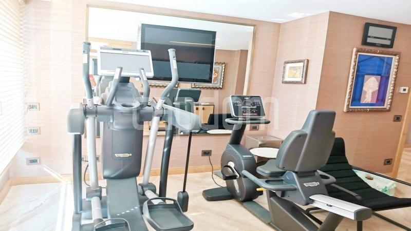 Канны-Известный Круазет - Квартира С Потрясающим Панорамным Видом На Последнем Уровне -  фитнес-зал