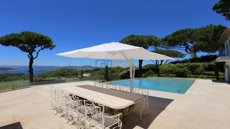 Villa for sale Les Parcs Saint Tropez - pool area